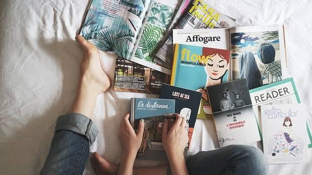 Reading Books Magazine - Free photo on Pixabay (494382)