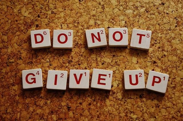 Do Not Give Up Motivation Live - Free photo on Pixabay (499851)