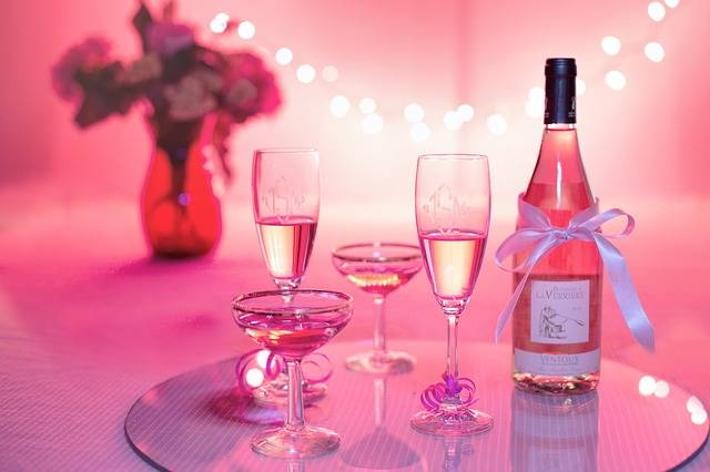 Pink Wine Champagne Celebration - Free photo on Pixabay (499863)