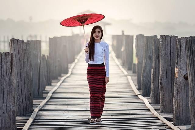 Umbrella Vietnamese Tradition - Free photo on Pixabay (499882)