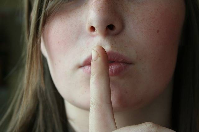 Secret Lips Woman - Free photo on Pixabay (500446)
