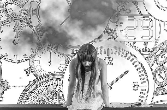Girl Time Pressure - Free photo on Pixabay (501387)