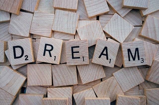 Dream Word Letters - Free photo on Pixabay (502303)