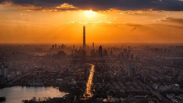 Tianjin Twilight City - Free photo on Pixabay (503103)