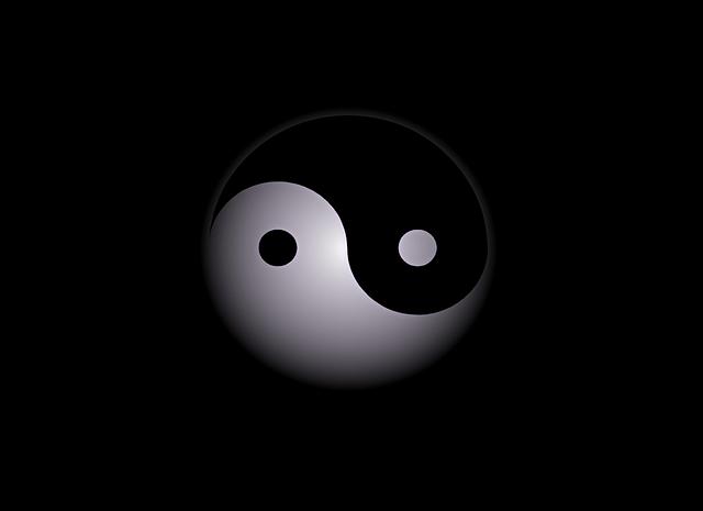 Yin-Yang Abstract Background - Free image on Pixabay (503106)