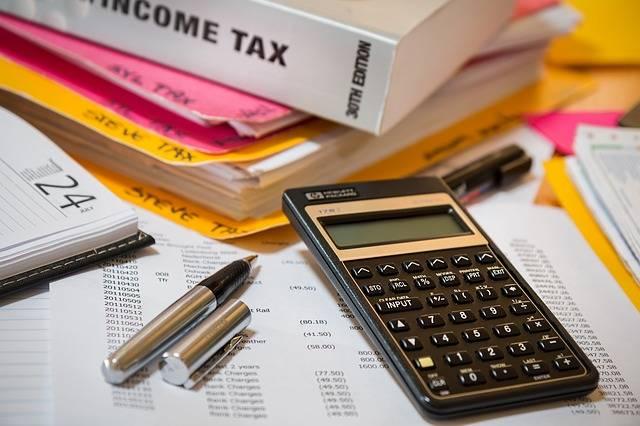 Income Tax Calculator Accounting - Free photo on Pixabay (506300)