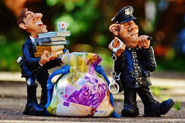 Taxes Tax Evasion Police - Free photo on Pixabay (508187)