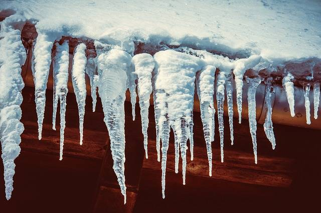 Icicle Roof Water - Free photo on Pixabay (508619)
