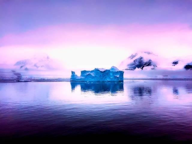 Antarctica Mountains Sunrise - Free photo on Pixabay (508633)