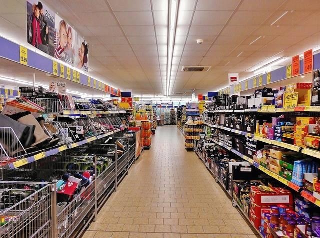 Supermarket Shelves Shopping Regal - Free photo on Pixabay (508680)
