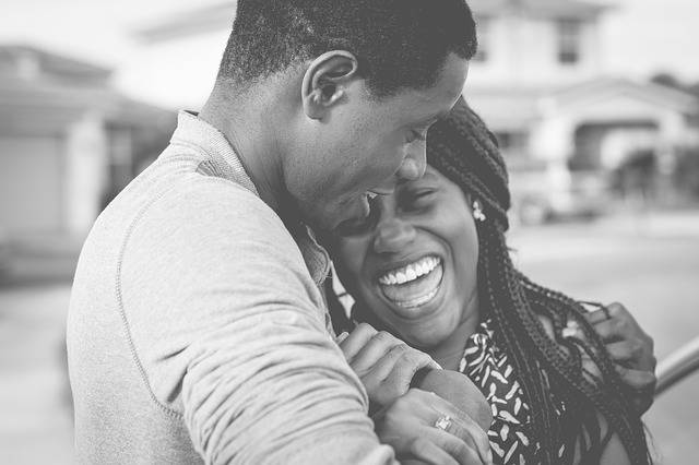 Black And White People Couple - Free photo on Pixabay (509321)