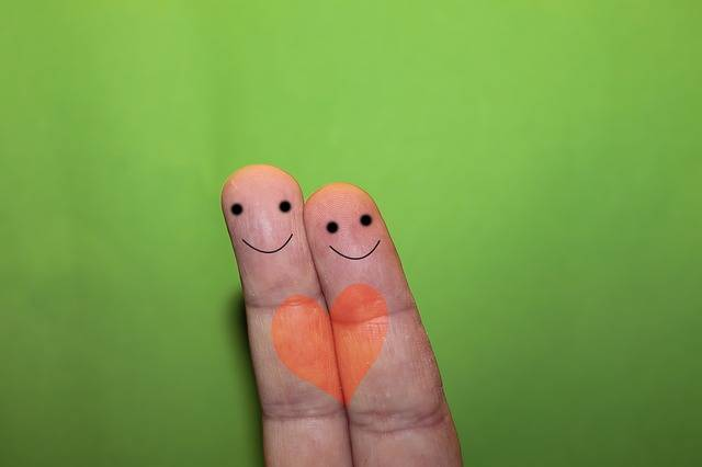 Finger Faces Heart - Free photo on Pixabay (509560)