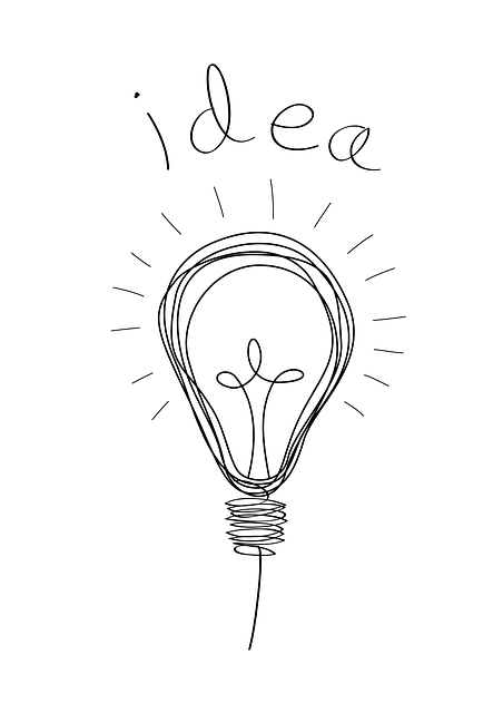 Light Bulb Ideas Sketch I - Free image on Pixabay (509977)