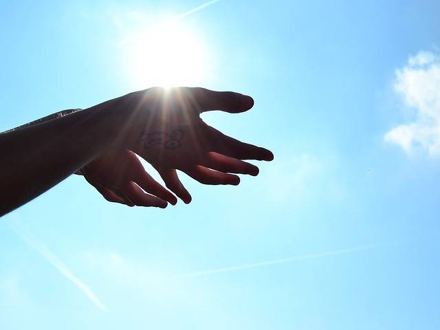 Hands Sun Heaven - Free photo on Pixabay (510882)