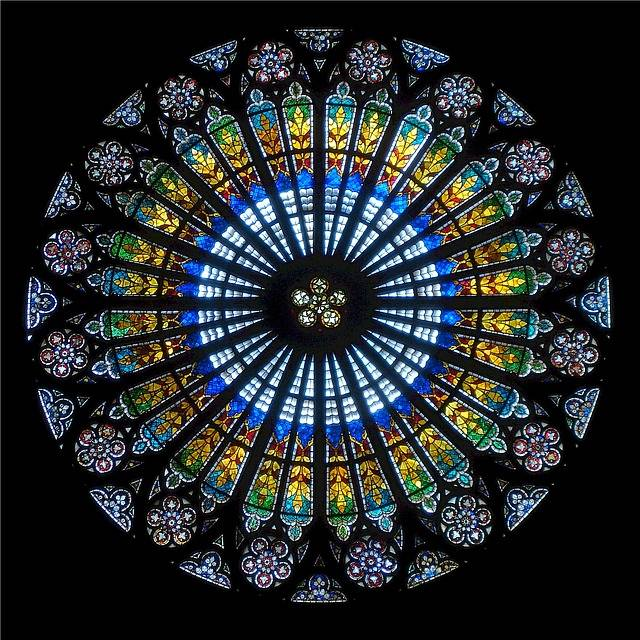 Rose Window Strasbourg Cathedral - Free photo on Pixabay (511137)