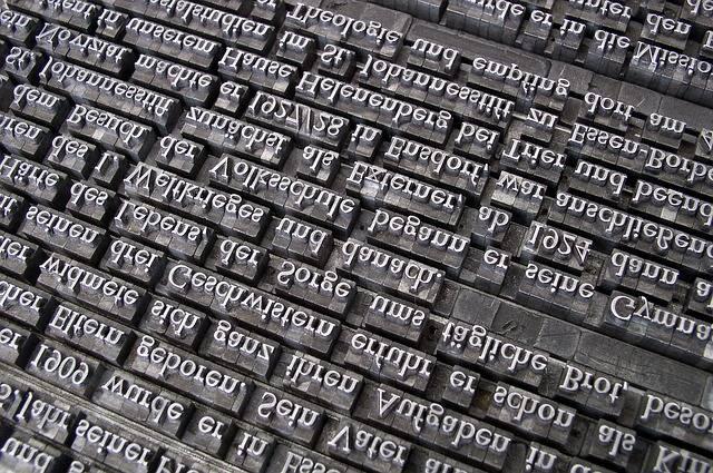 Font Lead Set Book Printing - Free photo on Pixabay (511420)
