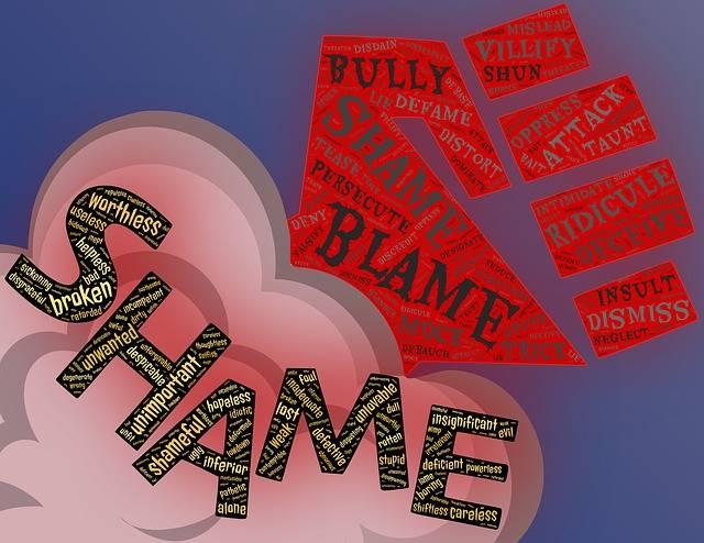Shame Blame Bullying - Free image on Pixabay (511647)