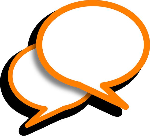 Speech Bubbles Comments Orange - Free vector graphic on Pixabay (511863)