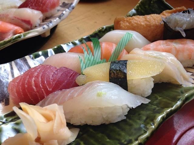 Sushi Japan Food Japanese - Free photo on Pixabay (511995)