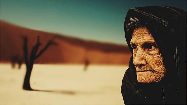 Old Woman Desert Age - Free photo on Pixabay (513565)