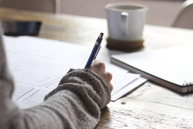 Writing Write Person - Free photo on Pixabay (513657)