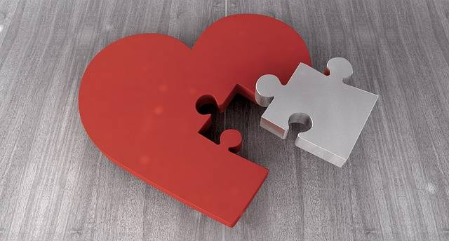 Heart Puzzle Joining Together - Free image on Pixabay (513958)
