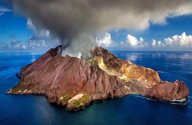 New Zealand Volcano Crater White - Free photo on Pixabay (514303)