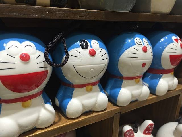 Doraemon Manga Phone Charms - Free photo on Pixabay (516409)