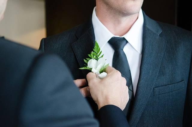 Wedding Marriage Buttonhole - Free photo on Pixabay (516568)