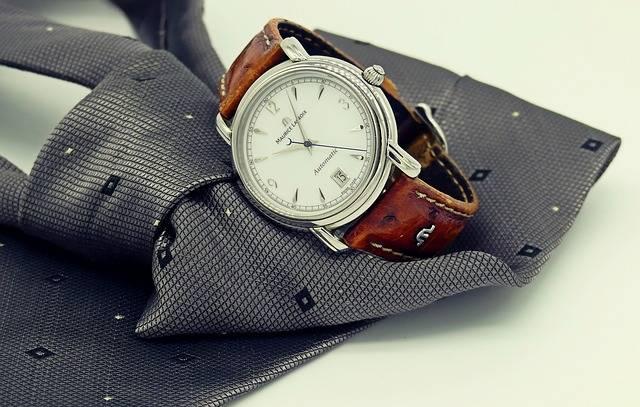 Wrist Watch Clock Tie - Free photo on Pixabay (516579)