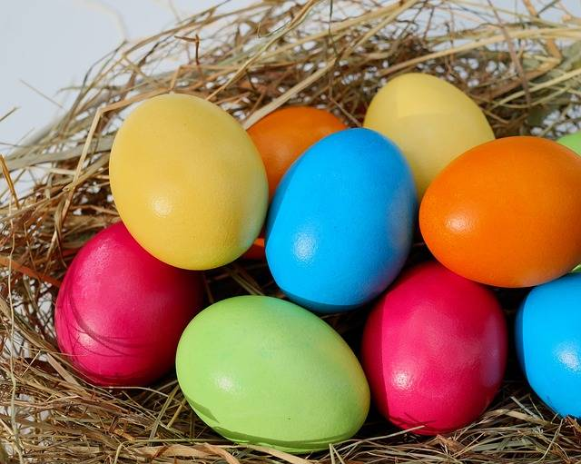 Easter Egg Eggs Colorful - Free photo on Pixabay (516674)