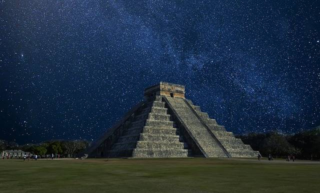 Chichen Itza Mexico Pyramid - Free photo on Pixabay (517539)
