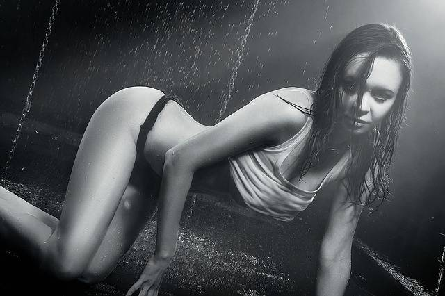 Wet Girl In The Studio Sexy - Free photo on Pixabay (518340)
