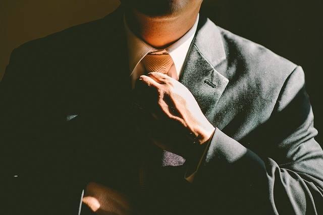 Tie Necktie Adjust - Free photo on Pixabay (518466)