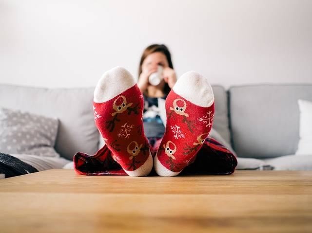Feet Socks Living Room - Free photo on Pixabay (518971)