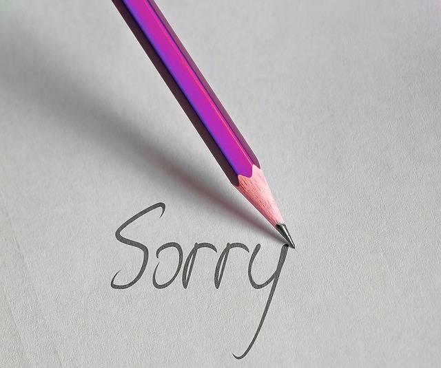 Pen Write Sorry Excuse - Free image on Pixabay (519146)