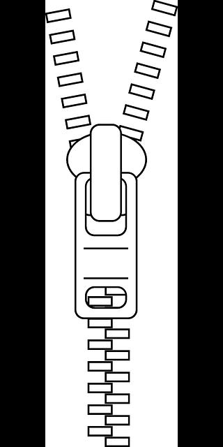 Zipper Zip Clothing - Free vector graphic on Pixabay (519318)