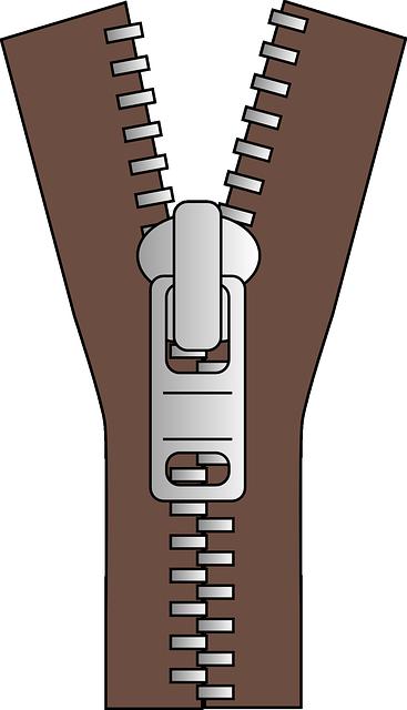 Zip Zipper Clothing Slide - Free vector graphic on Pixabay (519335)
