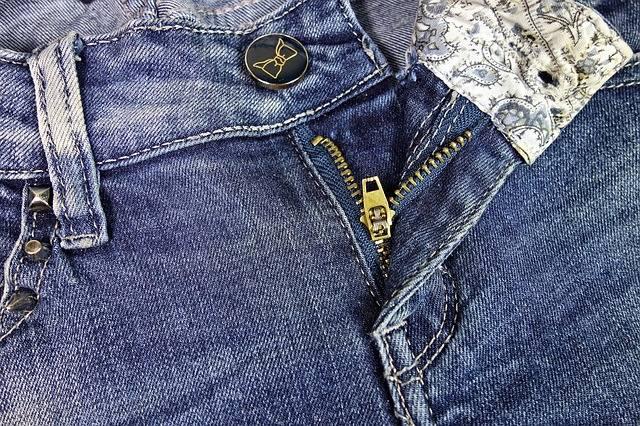 Jeans Blue Zipper - Free photo on Pixabay (519344)
