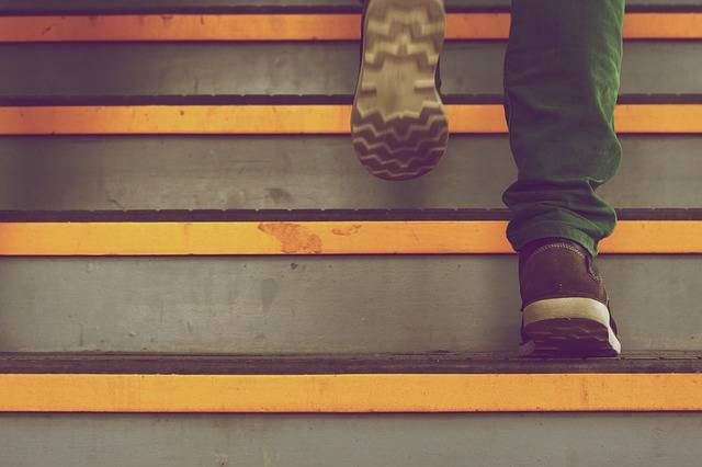 Steps Stairs Up - Free photo on Pixabay (519449)