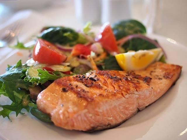 Salmon Dish Food - Free photo on Pixabay (520102)