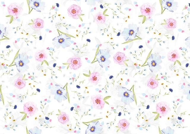 Floral Pattern Background Digital - Free image on Pixabay (520547)