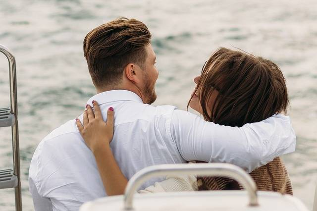 On A Yacht Sweethearts Kiss - Free photo on Pixabay (521428)