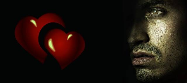 Heart Pain Tears - Free image on Pixabay (521447)