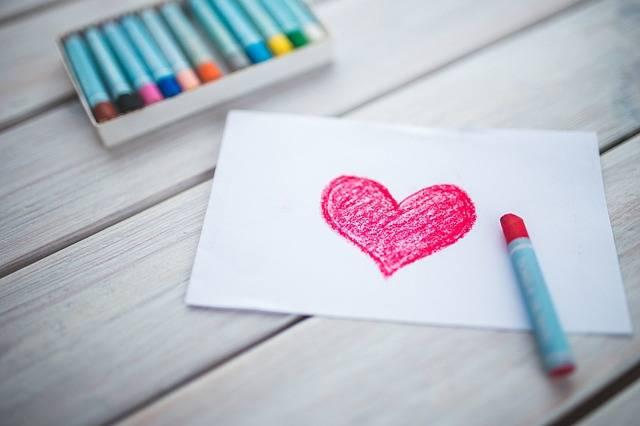 Heart Card Pastels - Free photo on Pixabay (521460)