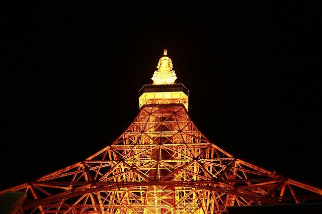 Travel Mark Tokyo Tower - Free photo on Pixabay (523872)