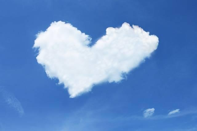 Cloud Heart Sky - Free photo on Pixabay (524620)
