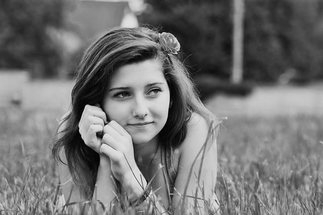 Girl Portrait Black And White - Free photo on Pixabay (525153)