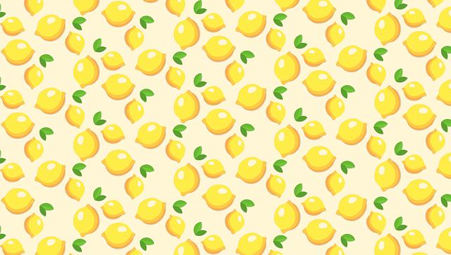 Fruits Template Lemons - Free image on Pixabay (525472)
