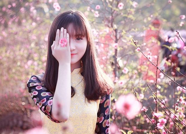 Nature Beautiful Girl - Free photo on Pixabay (525603)